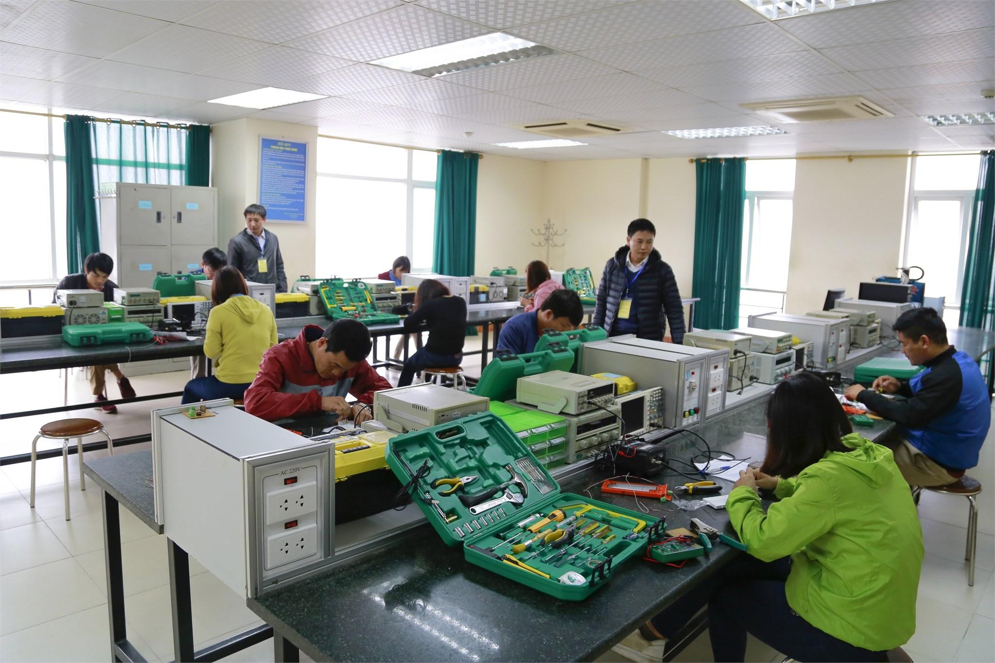 đánh giá kỹ năng nghề tại Trường Đại học Công nghiệp Hà Nội