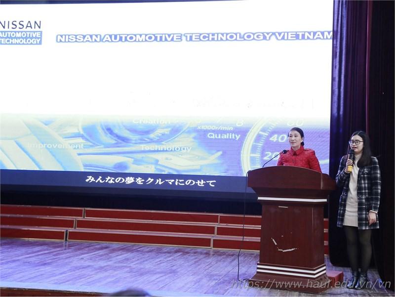 Hội thảo chương trình hợp tác đào tạo giữa Đại học Công nghiệp Hà Nội và Nissan Automotive Technology Việt Nam
