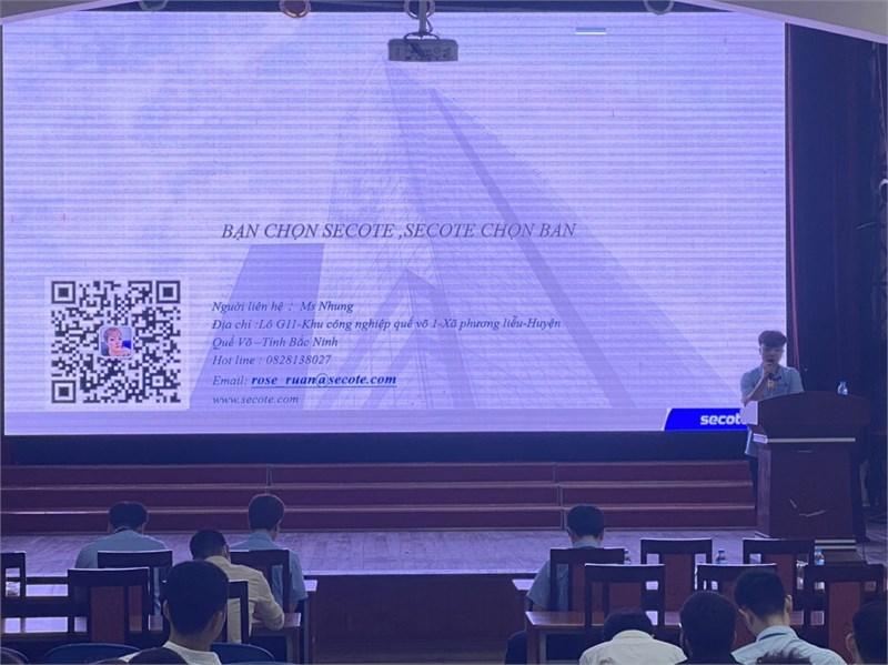 Hội thảo cơ hội việc làm và tuyển dụng trực tiếp của Công ty TNHH Secote Việt Nam