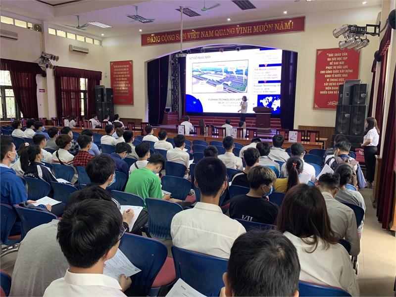 Hội thảo cơ hội việc làm và tuyển dụng trực tiếp của Công ty TNHH Fushan Technology Việt Nam