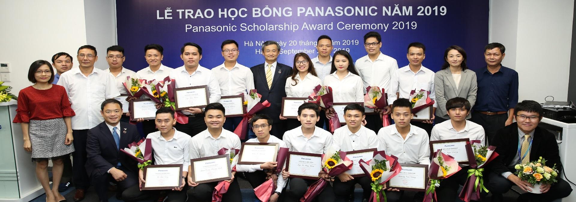 Lễ trao học bổng Panasonic 2019