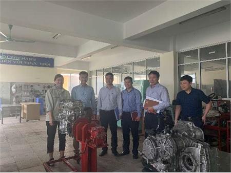 Trường ĐHCN Hà Nội tiếp đoàn kiểm tra của Sở về kiểm tra công tác huấn luyện thí sinh chuẩn bị thi tay nghề quốc gia