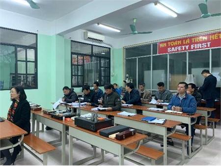 Trường Đại học Công nghiệp Hà Nội tổ chức tập huấn đánh giá viên nghề Đo kiểm cơ khí bậc 2