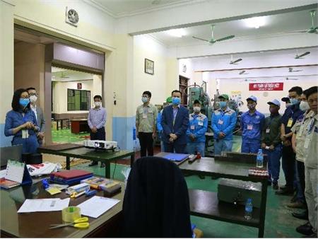 Trường Đại học Công nghiệp Hà Nội tổ chức thí điểm đánh giá nghề Phay vạn năng bậc 3 theo tiêu chuẩn Nhật Bản
