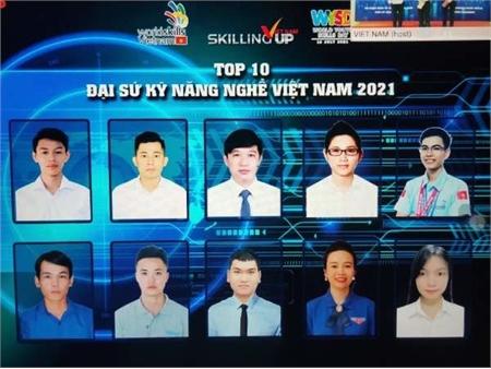 Con đường trở thành đại sứ kỹ năng nghề quốc gia của cựu sinh viên Trường Đại học Công nghiệp Hà Nội