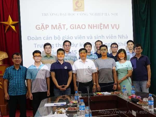 Đại học Công nghiệp Hà Nội tham dự kỳ thi tay nghề thế giới năm 2019 tại Kazan