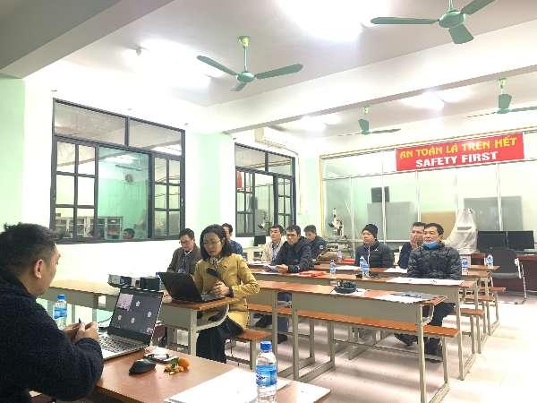 Trường Đại học Công nghiệp Hà Nội tổ chức biên soạn đề thi nghề Đo kiểm cơ khí bậc 2